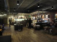 Inside a Starbucks