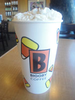 Biggby Pumpkin Spice Latte - A Michigan company