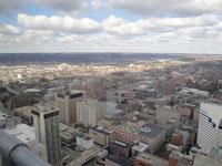 View atop Carew Tower in Cincinnati