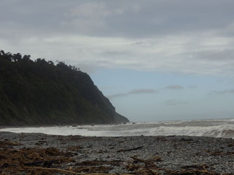 Okanto Beach - Tasman Sea - West Coast