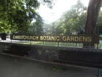 Christchurch Botanical Gardens entrance