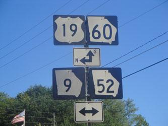 Georgia highway signs