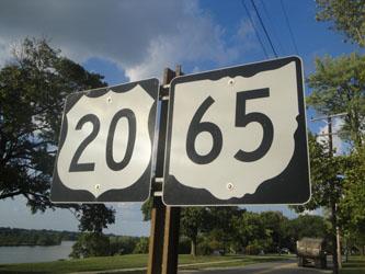 Ohio highway signs - Perrysburg