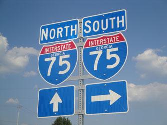Northern Georgia I-75