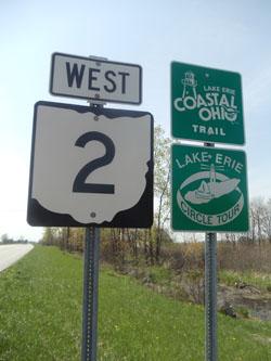 Ohio State Route 2 - Lake Erie circle tour