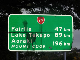 New Zealand South Island - Hwy 79