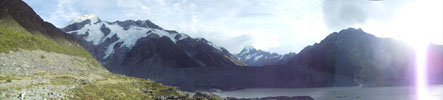 Mount Cook & Mount Cook Village - New Zealand