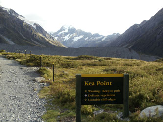 Kea Point - Mount Cook, Aoraki, New Zealand