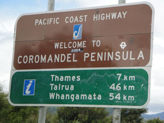 Welcome to Coromandel Peninsula - New Zealand