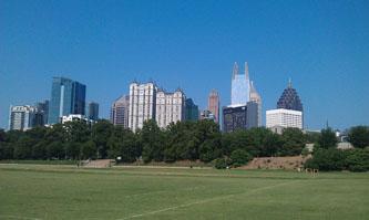 Atlanta, Midtown Neighborhood, Piedmont Park