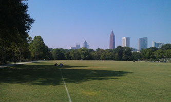 Atlanta, Midtown Neighborhood, Piedmont Park