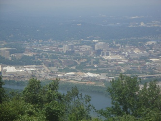 Lookout Mountain Panoramic shot