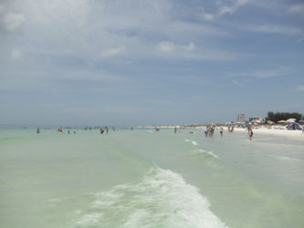Siesta Key Beach, Florida, water