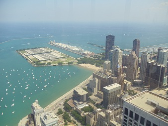 JHO Chicago - Lookout to Lake Michigan, Navy Pier