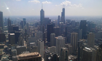 JHO Chicago - Lookout Downtown, skyline, Chicago Loop