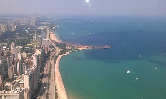 JHO Chicago - Lookout north, Lake Shore Drive
