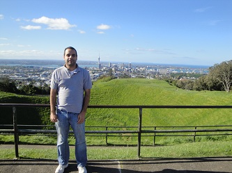 Auckland, New Zealand skyline - from Mt. Eden