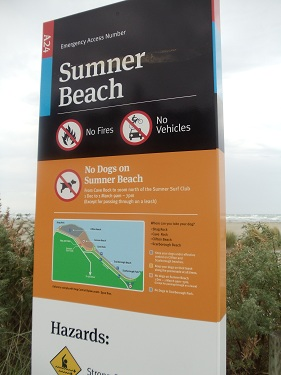 Christchurch, New Zealand - Sumner Beach