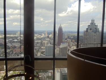 Atlanta, Georgia - Sun Dial, 73rd floor of Westin Hotel