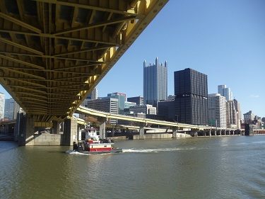 Pittsburgh - Monongahela River - Ft. Pitt Bridge