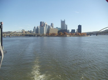 Pittsburgh - Point State Park - Downtown Skyline - Ohio River