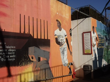 Gateway to Pittsburgh murals - Gateway Clipper Fleet