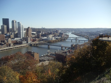 Pittsburgh - view from Mt. Washington
