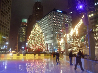 Detroit Holiday - Campus Martius Park