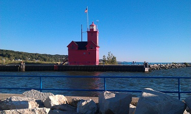 Holland Harbor Lighthouse, Pure Michigan