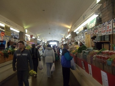 Cleveland - West Side Market - fruits and vegetables