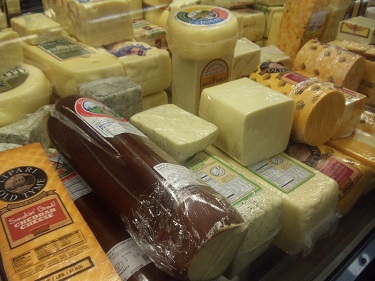 Cleveland - West Side Market - cheeses