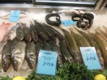 Cleveland - West Side Market - eel, fish, seafood