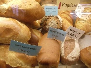 Cleveland - West Side Market - breads, baked goods