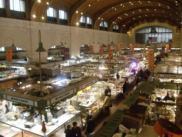 Cleveland - West Side Market - Ohio City neighborhood