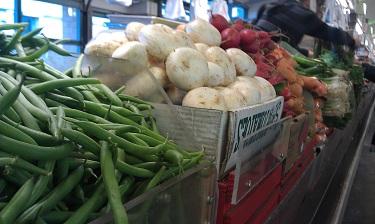Cleveland - West Side Market - vegetables
