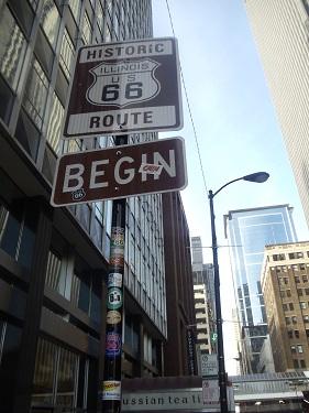 U.S. Route 66 - Chicago - Eastern terminus