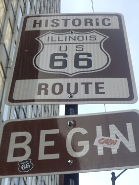 U.S. Route 66 - Chicago - Eastern terminus