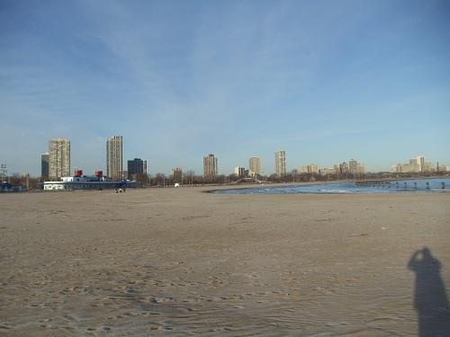 Chicago - North Avenue Beach, Winter