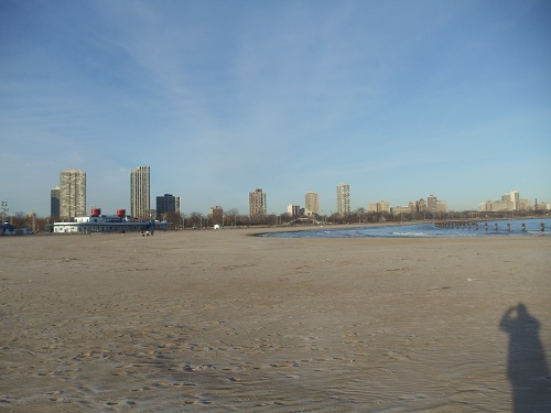 Chicago - North Avenue Beach, Winter