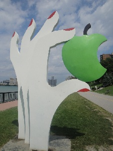 Eve's Apple - Odette Sculpture Park - Windsor, Ontario, Canada