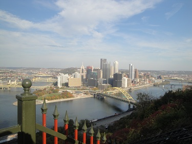 Pittsburgh - Duquesne Incline, Mt. Washington