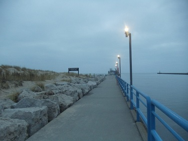 Grand Haven South Pier and Boardwalk