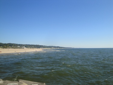 Grand Haven State Park beach
