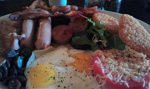 Full Irish Breakfast, Logan's Irish Pub, Findlay, Ohio