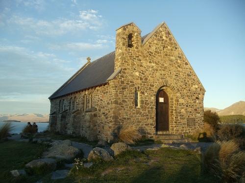 Lake Tekapo - Church of the Good Shepherd - New Zealand