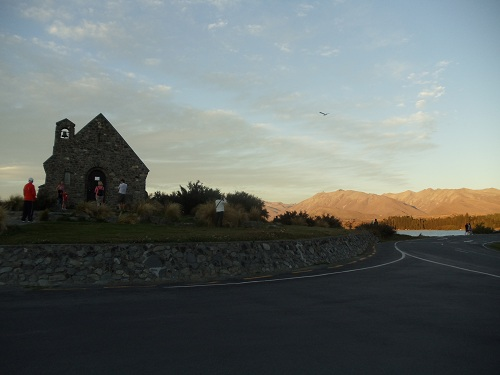 Lake Tekapo - Church of the Good Shepherd - New Zealand