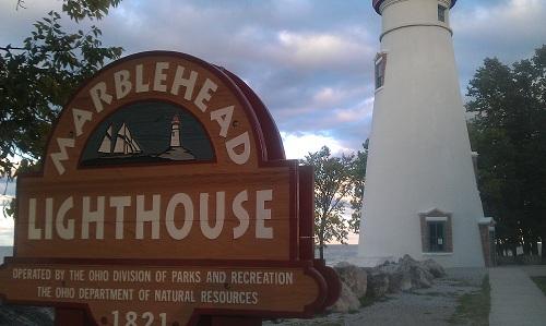Marblehead Lighthouse State Park, Lake Erie, Ohio