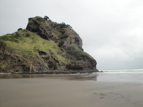 Piha, Piha Beach - North Island, New Zealand