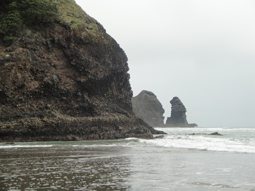 Piha, Piha Beach - North Island, New Zealand