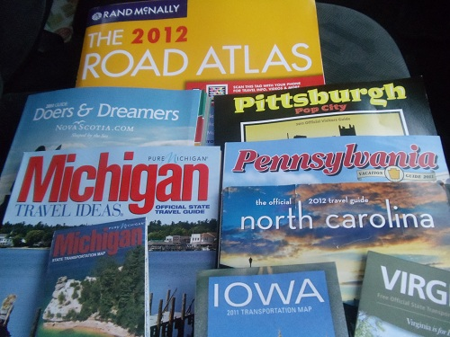 Day Road Trip - Atlas, Travel Guides and State Maps